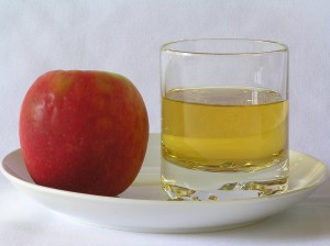 Apple juice is loaded with sugar with very little fiber. A whole apple, one of the best sources of soluble fiber, is much healthier than its juice.