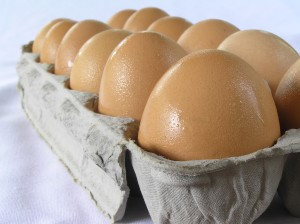 Eggs from free range hens  have up to 10 times the healthy Omega-3s compared to factory hens.