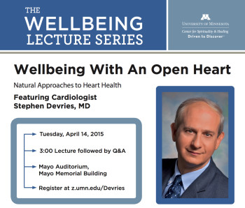 Devries University of Minnesota Wellbeing Lecture