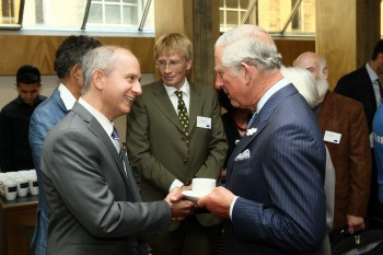 Dr. Stephen Devries and Prince Charles